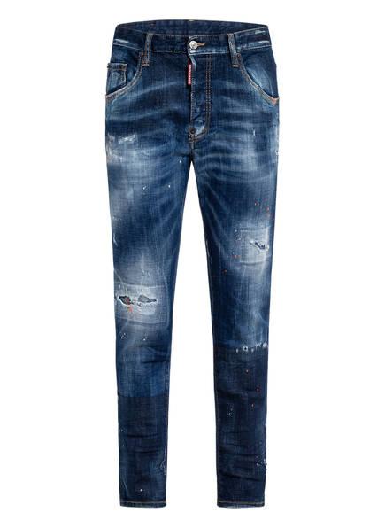 DSQUARED2 Destroyed Jeans SKATER Slim Fit, Farbe: 470 BLUE (Bild 1)