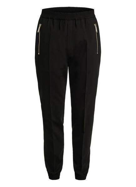 DSQUARED2 Hose im Jogging-Stil Slim Fit, Farbe: SCHWARZ/ ROT (Bild 1)