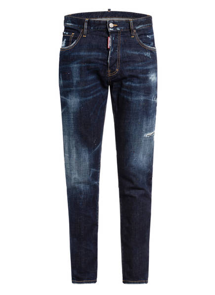 DSQUARED2 Destroyed Jeans SEXY MERCURY Slim Fit, Farbe: 470 BLUE (Bild 1)