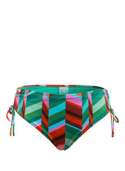 CYELL Bikini-Hose PORTOFINO , Farbe: GRÜN/ DUNKELROT/ ROSA (Bild 1)