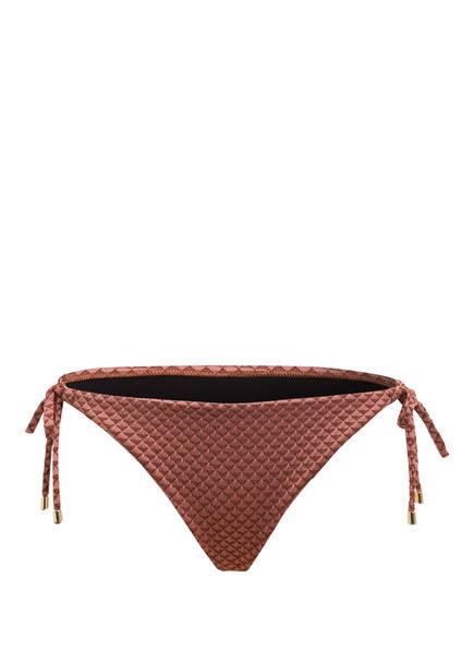 CYELL Bikini-Hose SPARKLESS ROSE, Farbe: ALTROSA/ BRAUN (Bild 1)