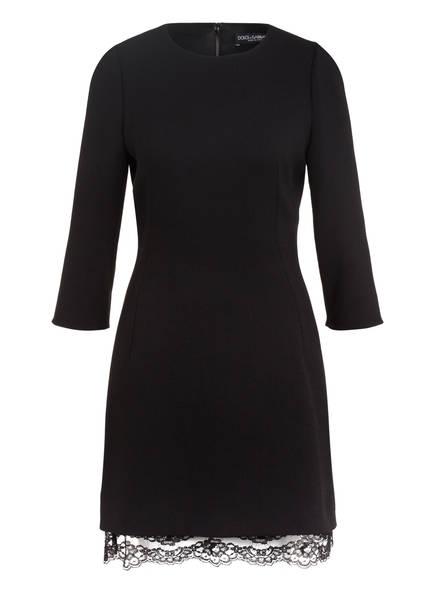 DOLCE&GABBANA Kleid mit 3/4-Arm, Farbe: SCHWARZ (Bild 1)