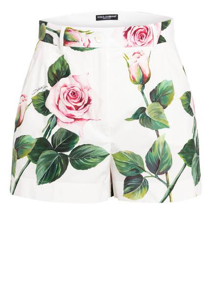 DOLCE&GABBANA Shorts, Farbe: WEISS/ ROSA/ GRÜN (Bild 1)