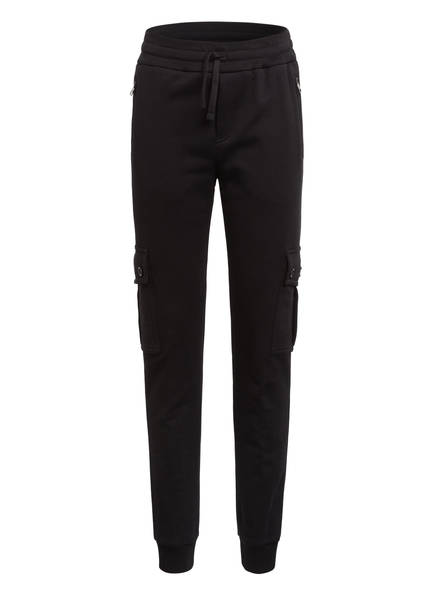DOLCE&GABBANA Sweatpants im Cargo-Stil, Farbe: SCHWARZ (Bild 1)
