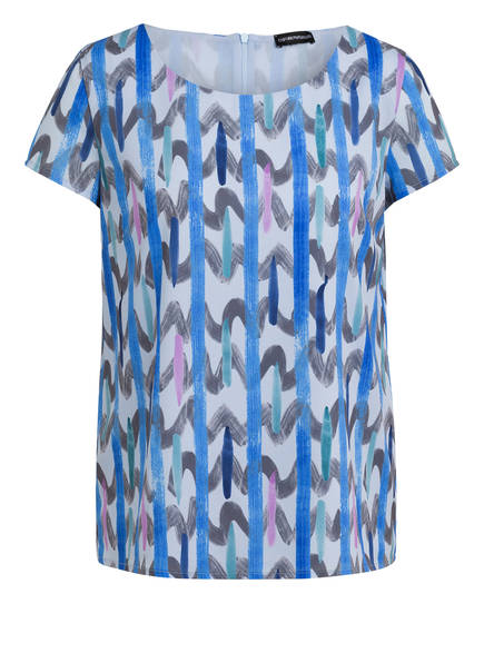 EMPORIO ARMANI Blusenshirt , Farbe: BLAU (Bild 1)