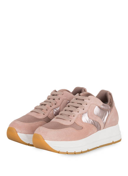 VOILE BLANCHE Plateau-Sneaker MARAN, Farbe: ROSE (Bild 1)