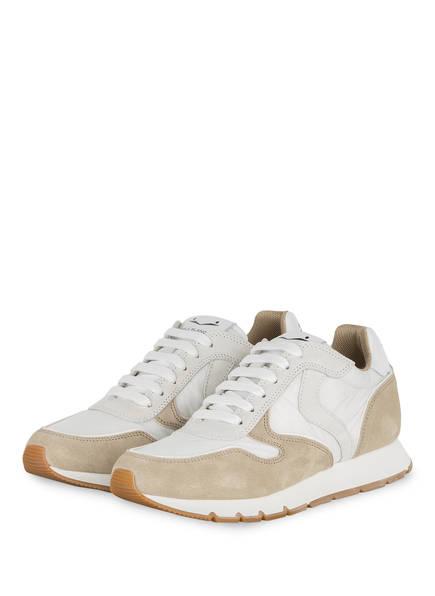 VOILE BLANCHE Sneaker JULIA, Farbe: WEISS/ BEIGE (Bild 1)
