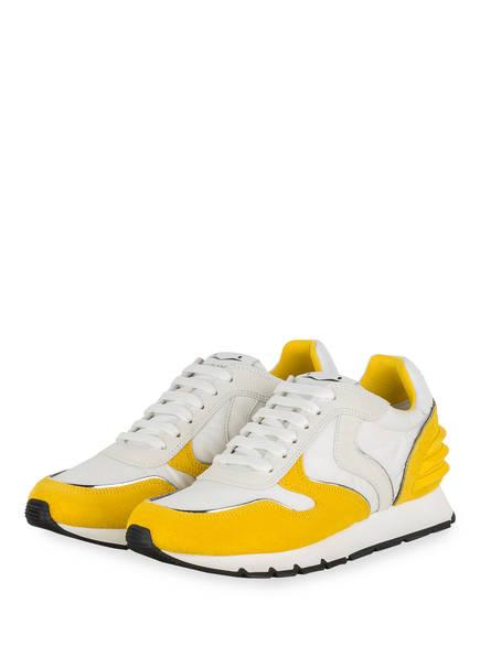 VOILE BLANCHE Sneaker JULIA POWER, Farbe: WEISS/ DUNKELGELB (Bild 1)