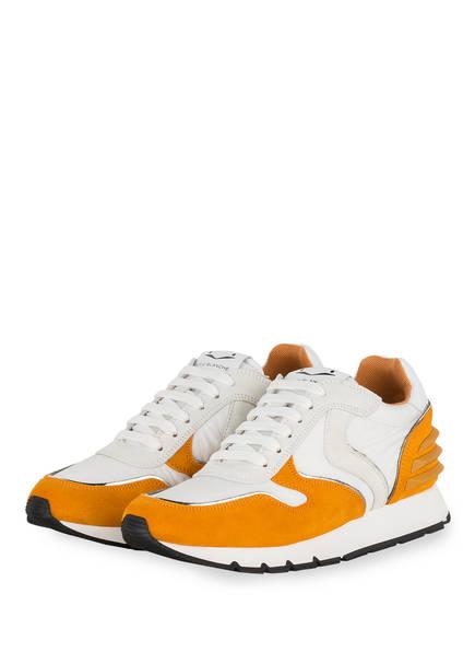 VOILE BLANCHE Sneaker JULIA POWER, Farbe: WEISS/ ORANGE (Bild 1)