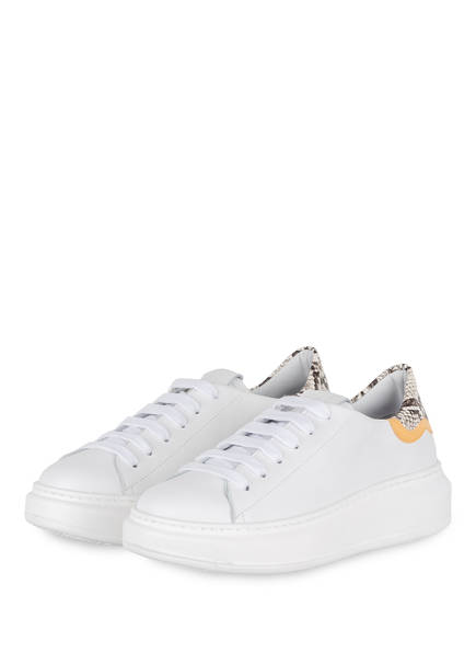 GIO+ Plateau-Sneaker, Farbe: WEISS (Bild 1)
