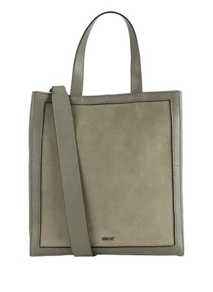 abro Shopper FRAME SMALL , Farbe: DUNKELOLIV (Bild 1)