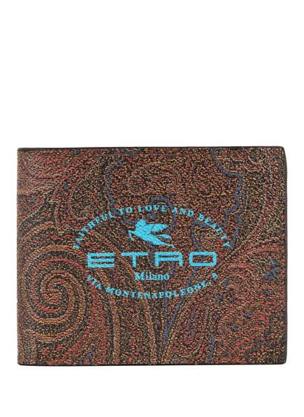 ETRO Geldbörse , Farbe: COGNAC/ DUNKELBRAUN (Bild 1)
