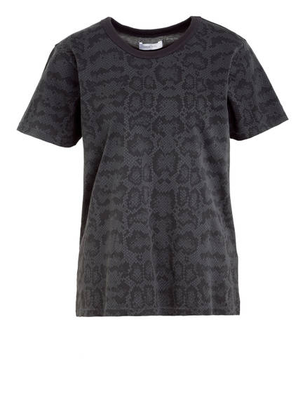 ANINE BING T-Shirt PYTHON, Farbe: DUNKELGRAU (Bild 1)