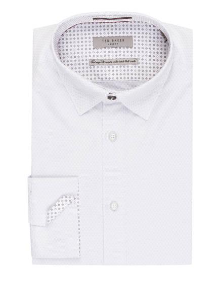 TED BAKER Hemd LAIT Slim Fit, Farbe: WEISS/ HELLBLAU (Bild 1)