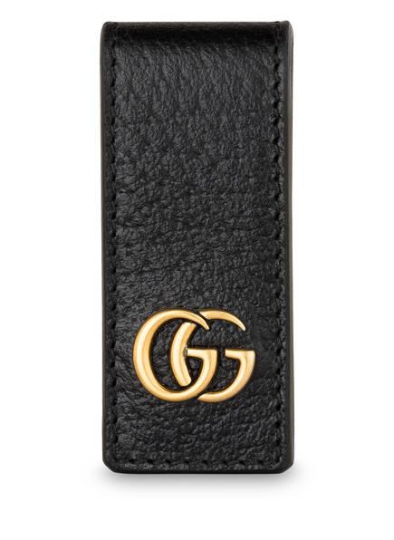 GUCCI Geldklammer GG MARMONT, Farbe: SCHWARZ (Bild 1)
