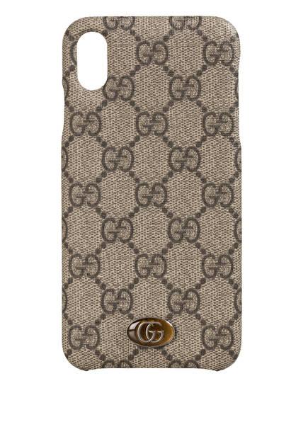 GUCCI Smartphone-Hülle OPHIDIA GG SUPREME, Farbe: 9742 BEIGE EBONY (Bild 1)
