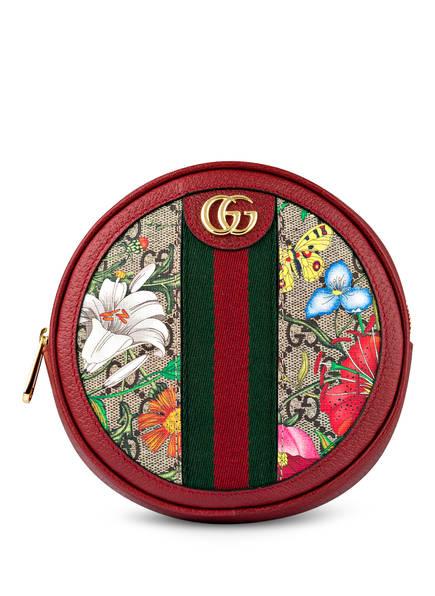 GUCCI Rucksack ROUND OPHIDIA GG FLORA MINI , Farbe: BEIGE EBONY/ROSSO/MULTI (Bild 1)