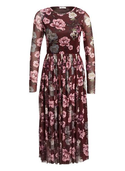 rich&royal Kleid, Farbe: DUNKELROT/ HELLROSA/ HELLGRÜN (Bild 1)