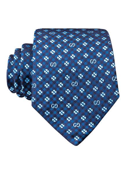 GUCCI Krawatte, Farbe: BLAU/ HELLBLAU (Bild 1)