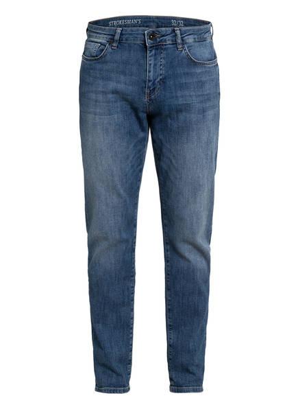 STROKESMAN'S Jeans Slim Fit, Farbe: 26925 MID BLUE WASHED (Bild 1)