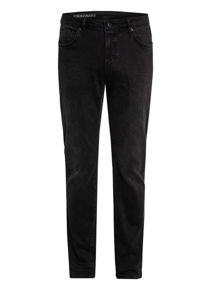 STROKESMAN'S Jeans Slim Fit, Farbe: 26929 Black Used (Bild 1)