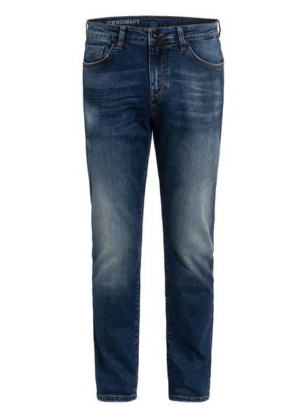 STROKESMAN'S Jeans CRIS Slim Fit, Farbe: 26927 Dark Blue Destroyed (Bild 1)