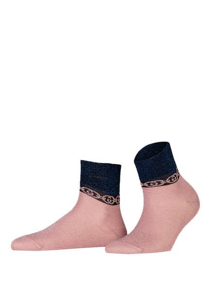 GUCCI Socken mit Glitzergarn , Farbe: 5868 ROSEATE/BLUE (Bild 1)