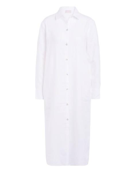 Mrs & HUGS Hemdblusenkleid aus Leinen, Farbe: WEISS (Bild 1)