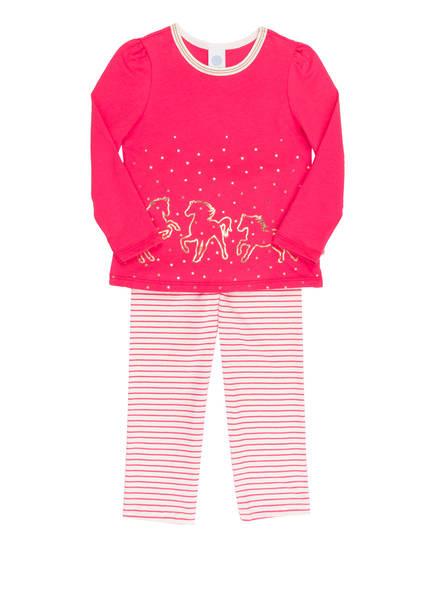 Sanetta Schlafanzug , Farbe: PINK/ WEISS (Bild 1)