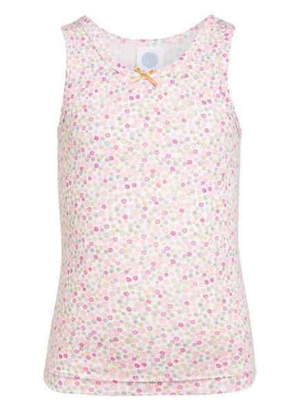 Sanetta Unterhemd, Farbe: WEISS/ ROSA (Bild 1)