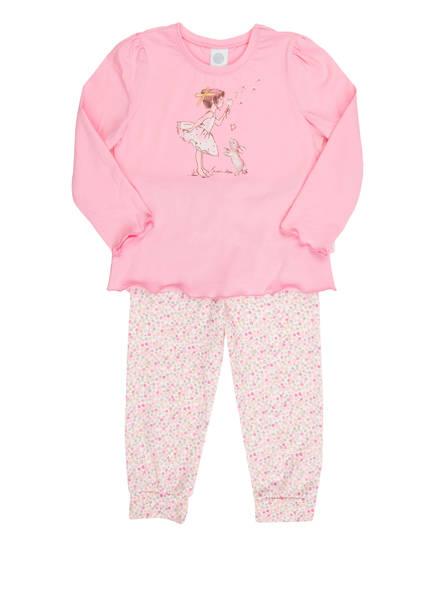Sanetta Schlafanzug, Farbe: ROSA/ WEISS/ PINK (Bild 1)