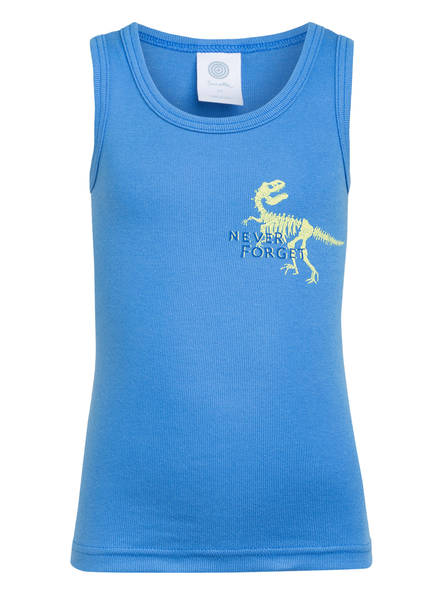 Sanetta Unterhemd, Farbe: BLAU (Bild 1)