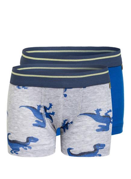 Sanetta 2er-Pack Boxershorts, Farbe: BLAU/ GRAU (Bild 1)