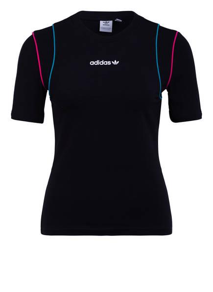 adidas Originals T-Shirt SLIM, Farbe: SCHWARZ (Bild 1)