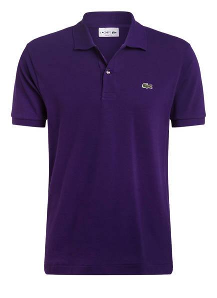 LACOSTE Piqué-Poloshirt Classic Fit , Farbe: LILA (Bild 1)