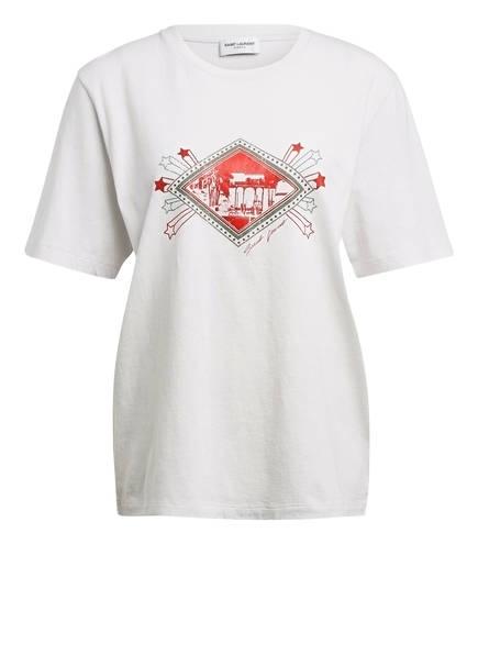 SAINT LAURENT T-Shirt, Farbe: WEISS/ ROT/ GRÜN (Bild 1)