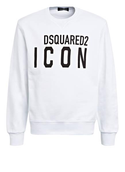 DSQUARED2 Sweatshirt ICON , Farbe: WEISS/ SCHWARZ (Bild 1)