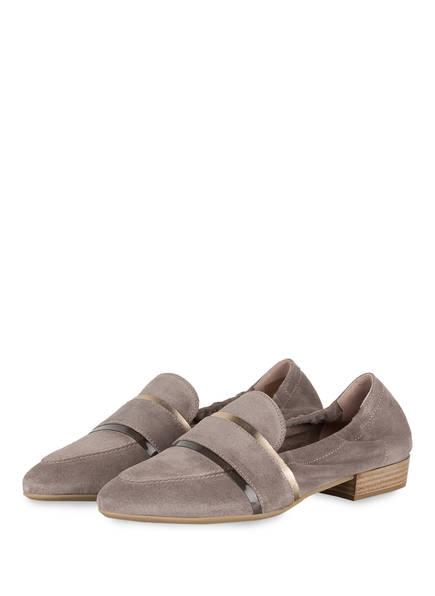 DONNA CAROLINA Loafer , Farbe: TAUPE (Bild 1)
