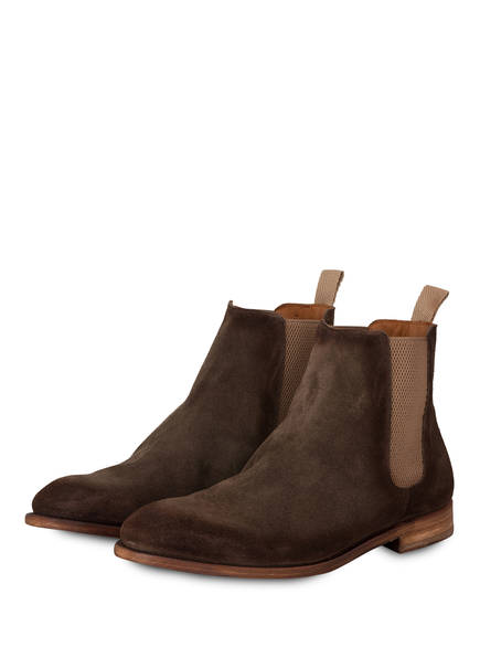 Cordwainer Chelesa-Boots SORRENTO, Farbe: TAUPE (Bild 1)