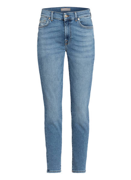 7 for all mankind 7/8-Jeans ROXANNE ANKLE, Farbe: LUXE VINTAGE CAPITOLA BLUE (Bild 1)