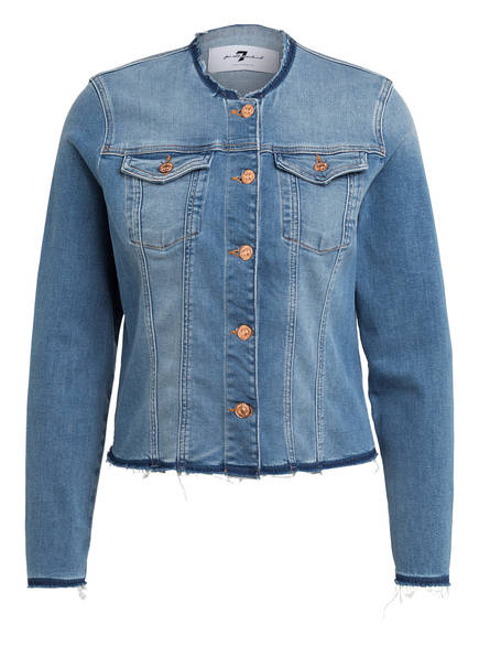 7 for all mankind Jeansjacke , Farbe: BLAU (Bild 1)