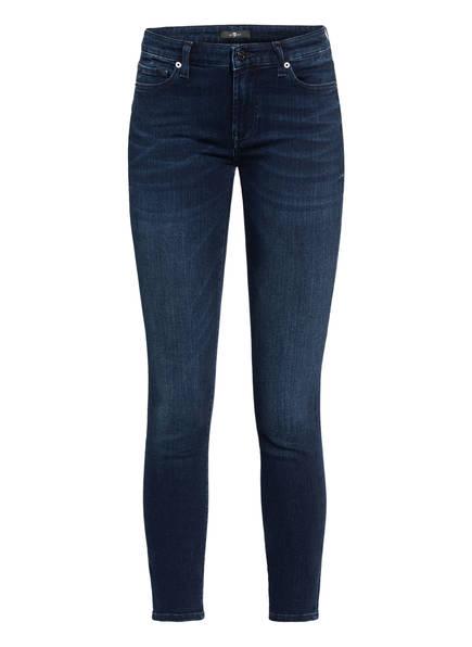 7 for all mankind 7/8-Jeans PYPER CROP, Farbe: SLIM ILLUSION HOMELAND DARKSIDE DARK BLUE (Bild 1)