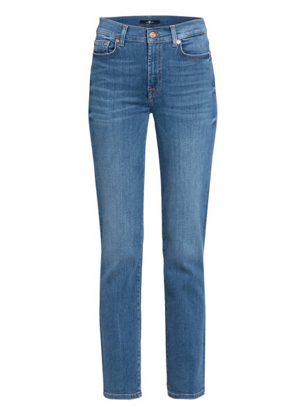7 for all mankind Jeans THE STRAIGHT, Farbe: SLIM ILLUSION POSESSED MID BLUE (Bild 1)