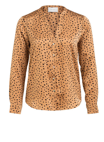 NEO NOIR Blusenshirt PANDORA, Farbe: CAMEL/ SCHWARZ (Bild 1)