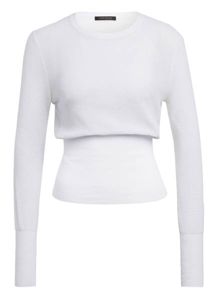 STRENESSE Mesh-Pullover, Farbe: WEISS (Bild 1)