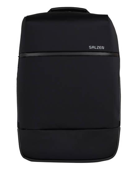 SALZEN Rucksack SHARP mit Laptop- und Tablet-Fach, Farbe: SCHWARZ (Bild 1)