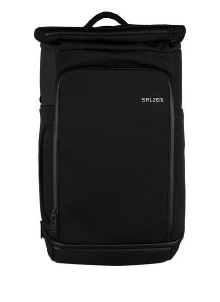 SALZEN Rucksack TRIPLETE mit Laptop-Fach, Farbe: SCHWARZ (Bild 1)