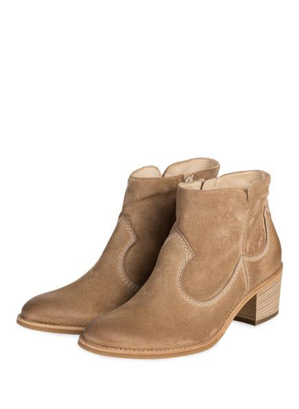paul green Cowboy Boots, Farbe: BEIGE (Bild 1)