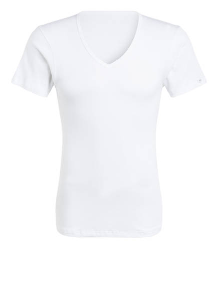 mey V-Shirt Serie NOBLESSE, Farbe: WEISS (Bild 1)