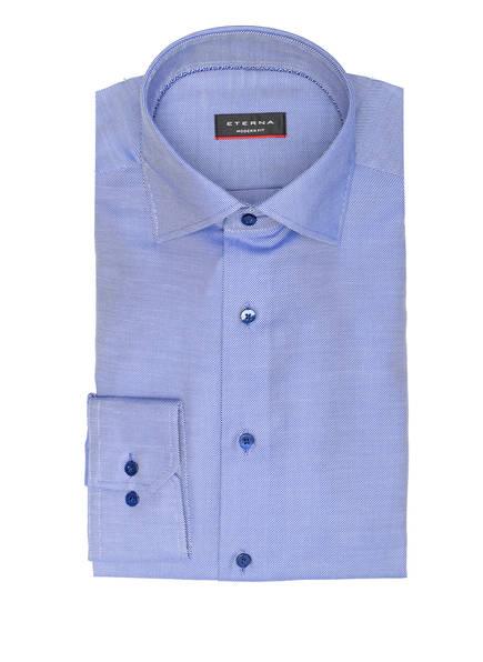 ETERNA Hemd Modern Fit, Farbe: BLAU/ WEISS GESTREIFT (Bild 1)